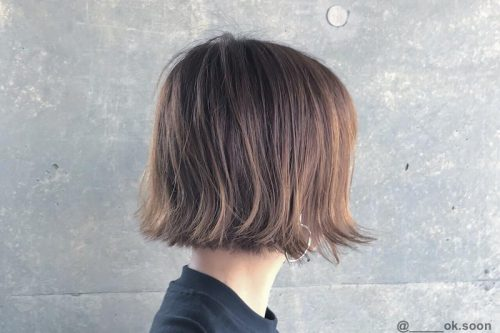 Short chin length hairstyles