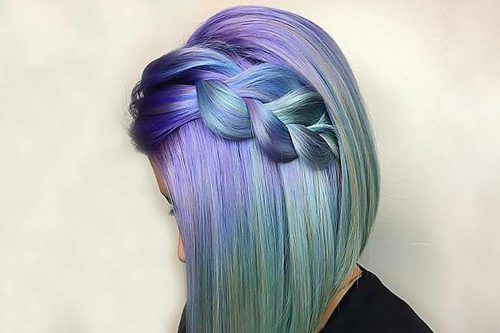 30 Braided Hairstyles For Your Purple Hair
