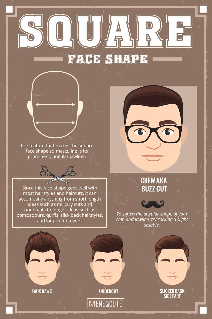 Hairstyles For Square Faces #faceshapes