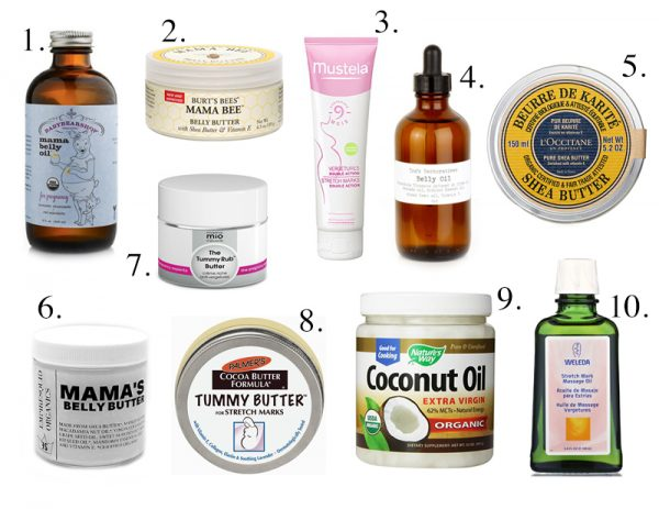 Best oils to use for stretch marks during pregnancy