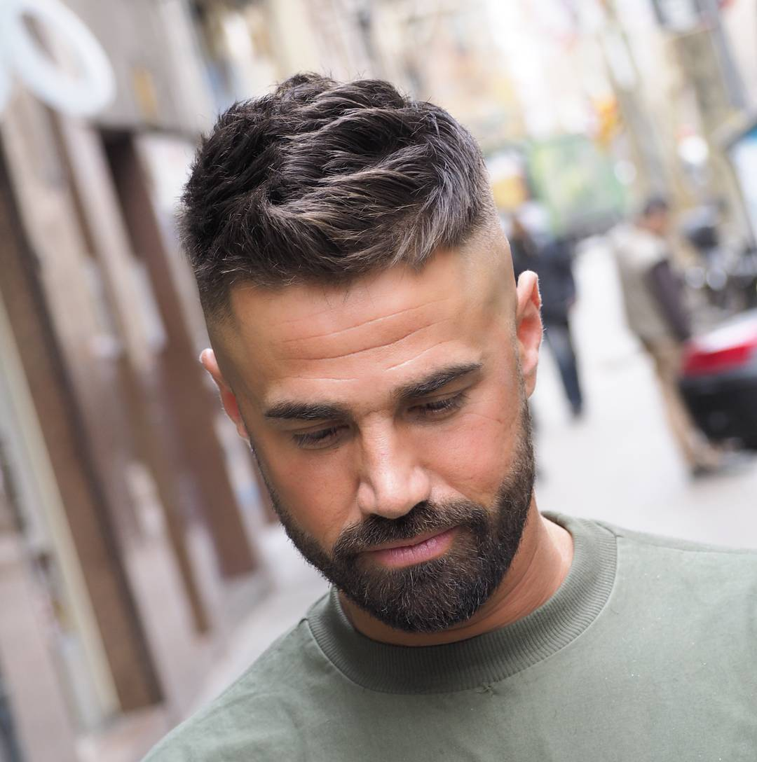 Short Curly Haircuts For Men